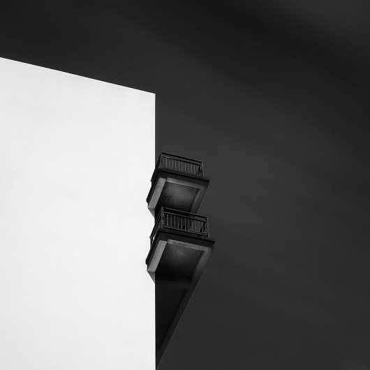 All sizes | The Balcony | Flickr - Photo Sharing! #white #black #photography #architecture #and #diblicek #michael