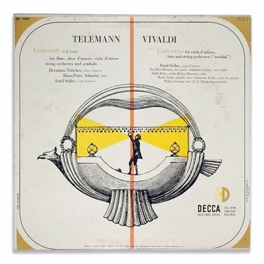 The job of the artist is always to deepen the mystery - but does it float #record #cover #design #vivaldi