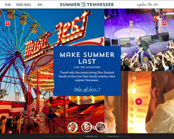 Travel Websites Design Inspiration