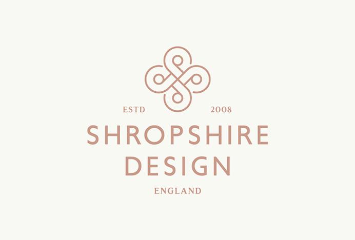 Shropshire Design by Alan Cheetham #logo #logotype #mark #symbol