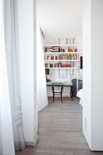 hotel maison margiela in paris | the style files #interior #design #white #clean