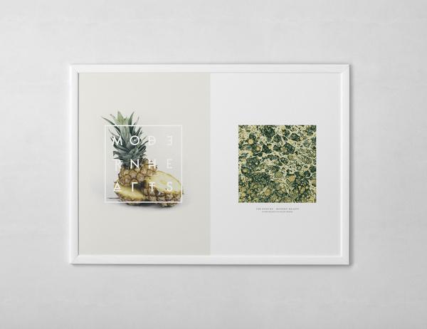 MODERN HEARTS Every Reason to Panic #print #design #graphic #pineapple
