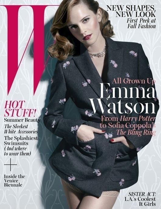Emma Watson by Michael Thompson #fashion #photography