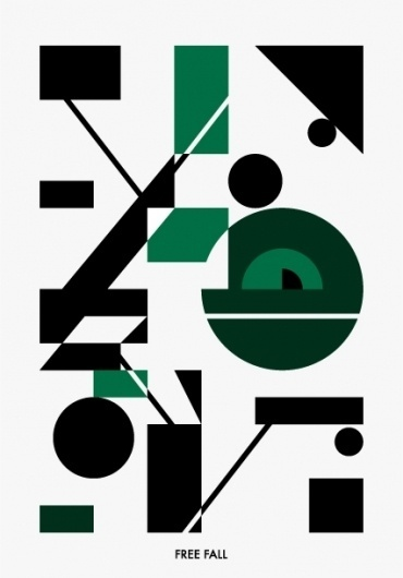 HIDEKI INABA #abstract #free #design #graphic #shapes #fall