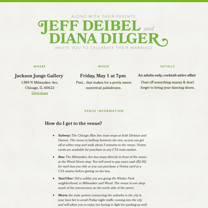 Jeff & Diana