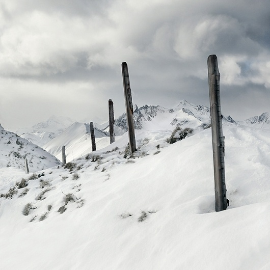Alps/Winter on the Behance Network #photography