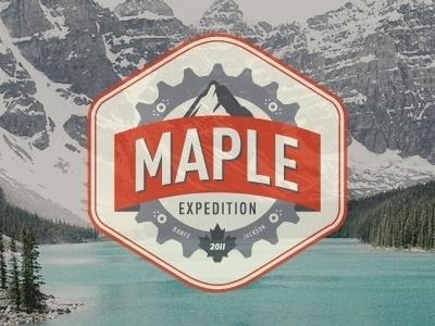 Dribbble - Maple Expedition by Jason Hines #bikes #branding #jason #denver #colorado #hines #logo #california