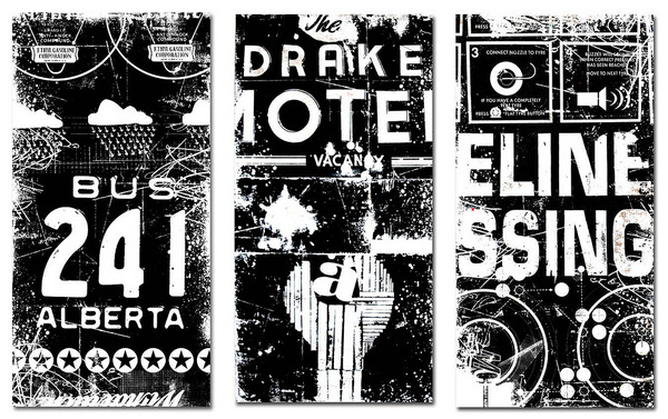 All sizes | bus 241, the drake & elineessing | Flickr - Photo Sharing! #collage #bw