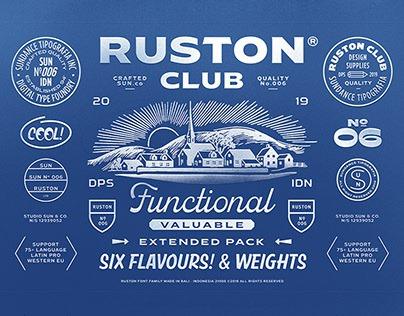 Ruston Font Family