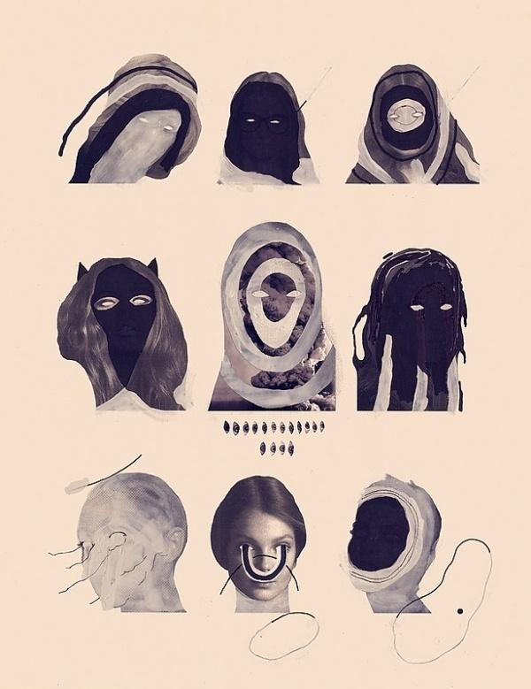 –––––––––––––––– : Eric Timothy Carlson #eric #collage #faces #carlson