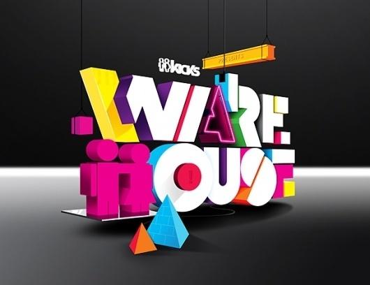Warehouse 2011 #typography
