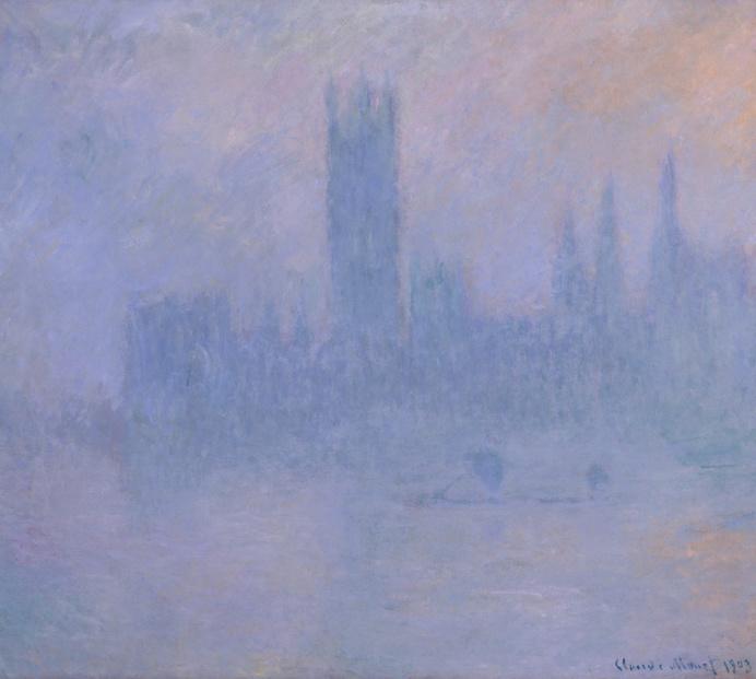Claude Monet, Le Parlement dans le Brouillard