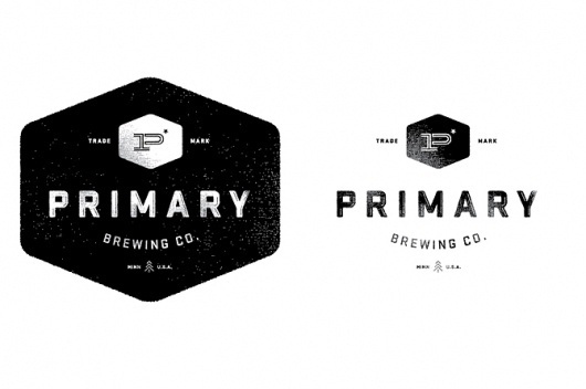 Nick Brue #logo #design #badge #beer