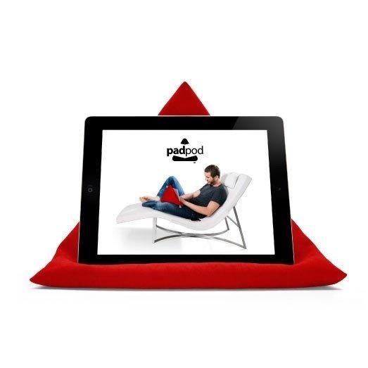 Energy Red iPad, Tablet & Book Cushion