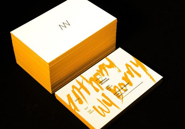 Anthony Wyborny Business Cards