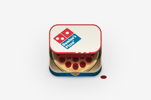 HUH. - Food iPhone App Icons #icon #app