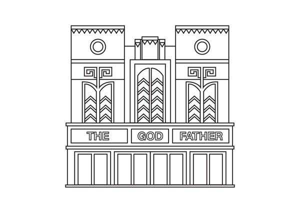 James Kape #architecture #vector #line #building #illustrator