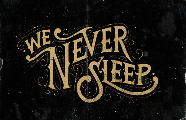 Hand Lettering by Tobias Saul #tobias #lettering #saul #typography