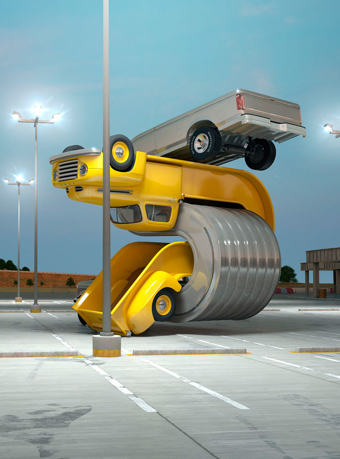 chris labrooy warps pickups for tales of auto elasticity #trucks