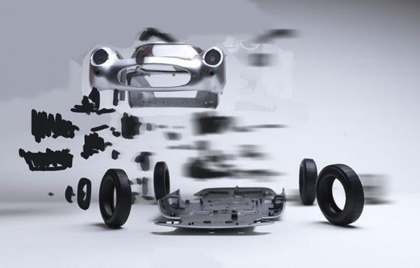 Exploded Cars by Fabian Oefner6 #explosion #car #art