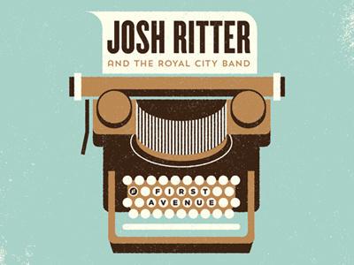 Typewriter 2 #illustratrion #band #poster