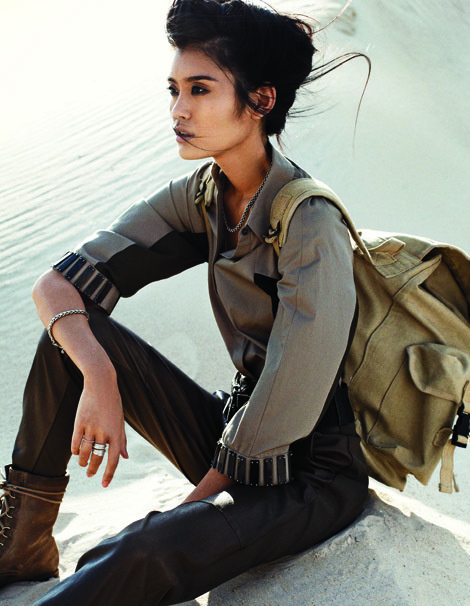 Ming Xi by Benny Horne for Vogue China #fashion
