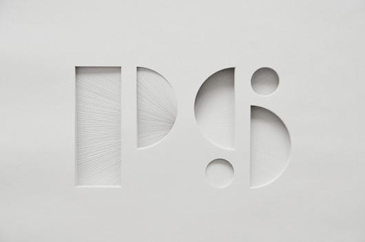 Paper Typography   MONOmoda #paper #typography