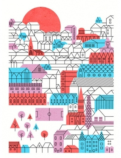grain edit · Parko Polo #illustration #color #parko #polo