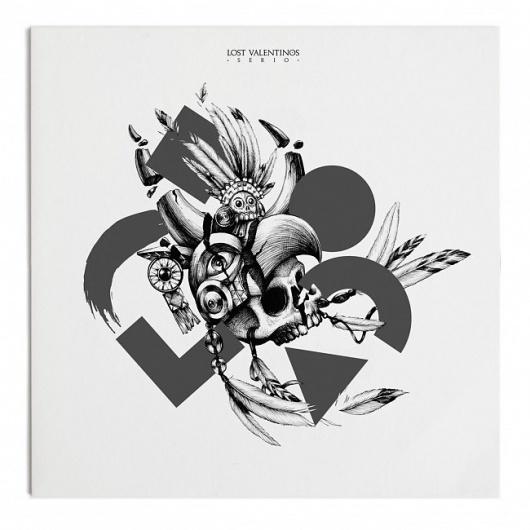 F C H i C H K 'L #album #artwork #illustration #jonathan #zawada