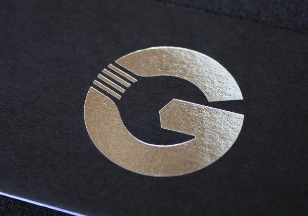 Gott's Van & Car Service Centre #business #negative #card #design #graphic #space #marque #logo #foil