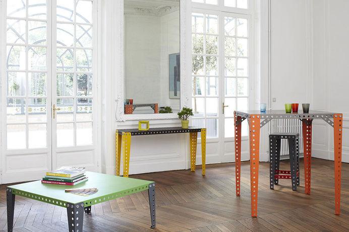 Bygg vilka möbler du vill med Meccano Home - Uppskalad version av metallbyggsatsen   Tjock / Hemmet #meccano #home