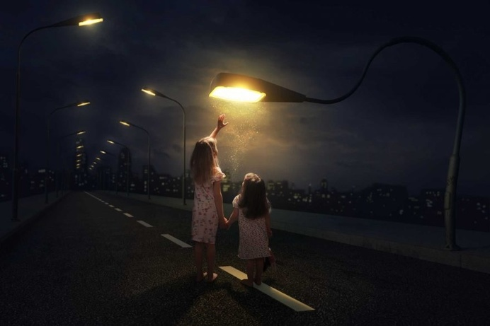 John Wilhelm Makes Cinematic and Humorous Photo Illustrations With His Three Daughters