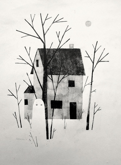 tumblr_lufbpiZMkK1qjx6w1o1_1280.jpg (JPEG Image, 585×797 pixels) - Scaled (85%) #ghost #house #klassen #jon #illustration
