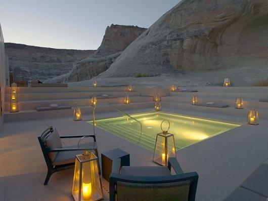 Amangiri Luxury Resort in Canyon Point, Utah   Yatzer™ #amangiri #pool #resort #canyon #luxury