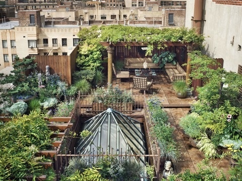 FFFFOUND! | 07 May 2012 - M O O D #garden #roof #plants