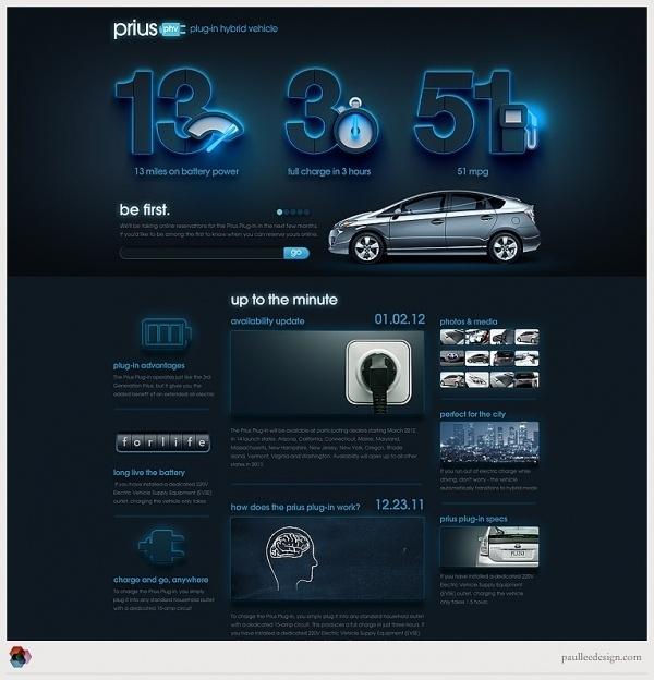 Paul Lee Design #web