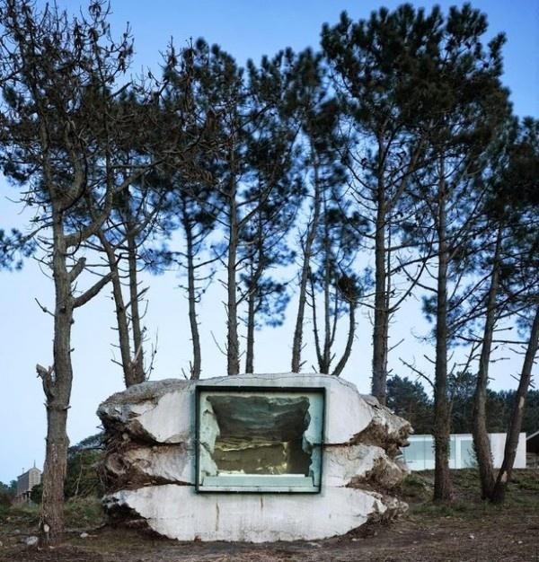 Rock Design House – Fubiz™ #rock #design #architecture #house