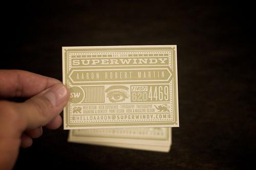 windycard #sauce #business #card #print #mamas #vintage