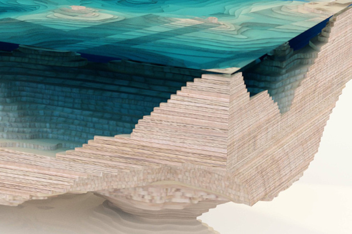 duffy london: the abyss table #glass #furniture #table