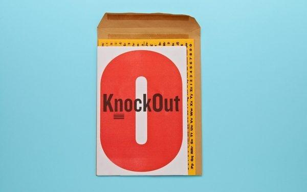 Knockout Type Specimen #print #type #specimen #knockout