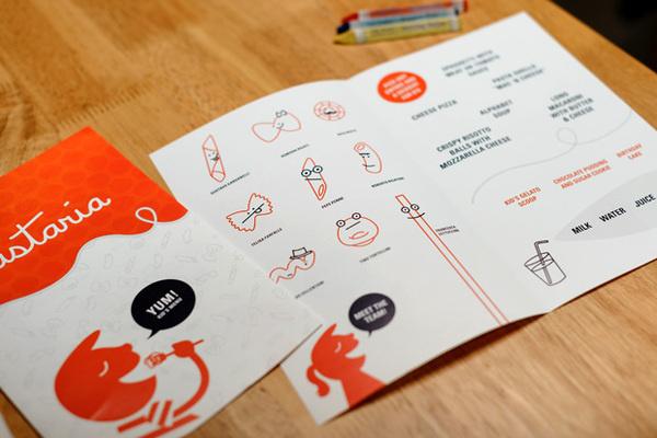 Pastaria St. Louis Kids Menu #design #graphic #identity