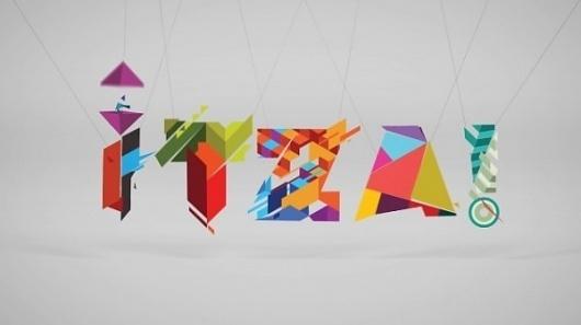Typographic Animation by Itza | 123 Inspiration #typographic #motion #studio