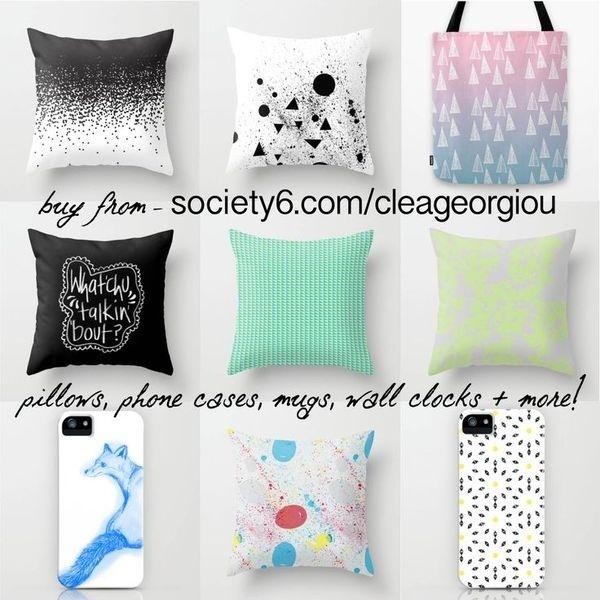 prints, pattern, illustration, graphic design! BUY NOW! society6.com/cleageorgiou #pattern #prints #design #graphic #colours #illustration #society6