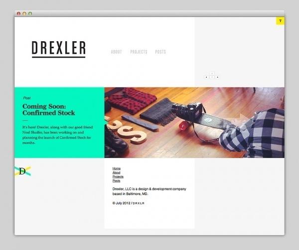 Websites We Love — Drexler