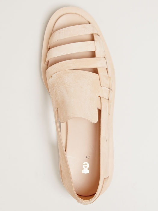 Pinned Image #beige #leather #sandal