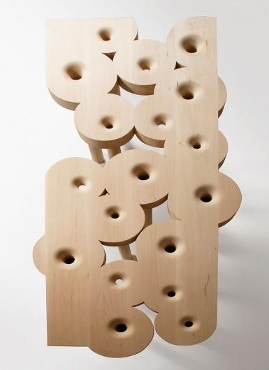 Google Image Result for http://www.designboom.com/weblog/images/images_2/2011/joyce/redemption-02.jpg #design #wood #furniture #kurtz #art #table #christopher #work