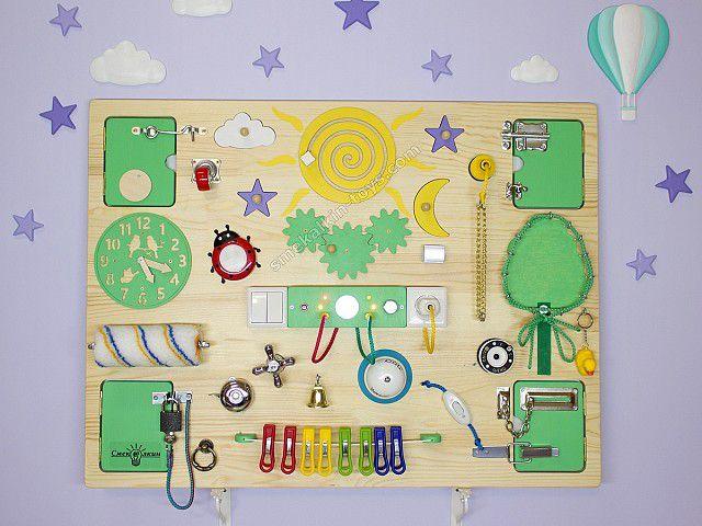 busy board Бизиборд купить интернет магазин Макси Природа Смекалкин, игровая доска