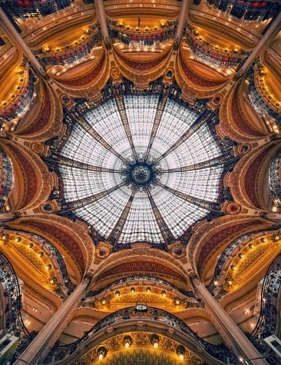 Galeries Lafayette | Flickr - Photo Sharing! #design #architecture #art