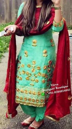 Punjabi Salwar Suit - Happy Shappy