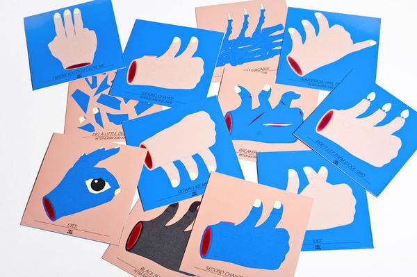 Peter Bjorn & John by Torvestig #album #artwork #illustration #series #hands